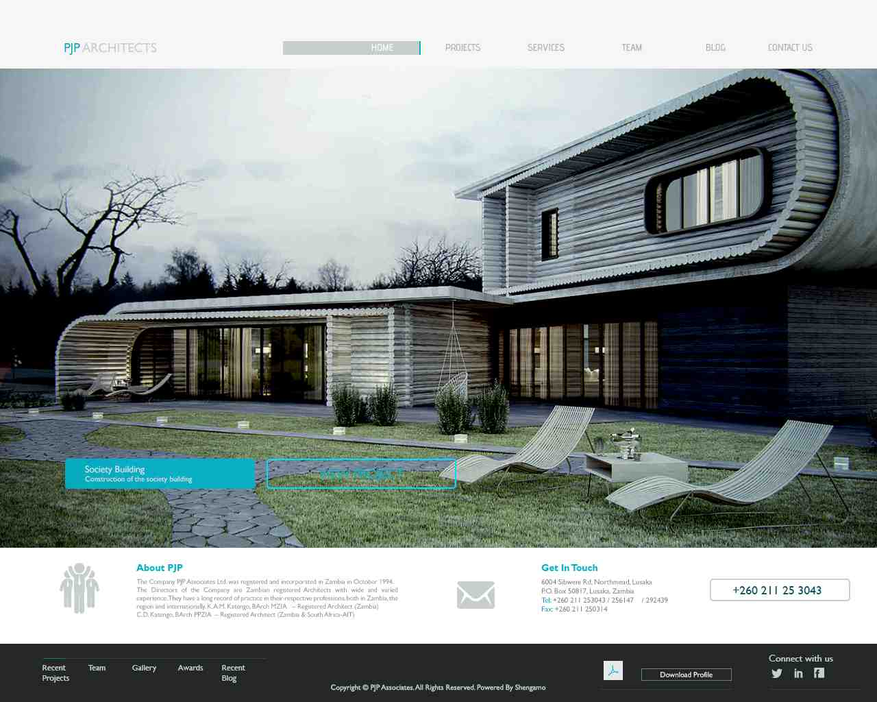 Shengamo media limited the best web developers in zambia for Architecture firms in zambia